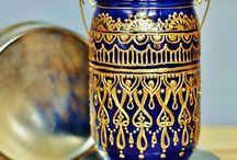 Jar, Bottles, Vase Crafts & Ideas