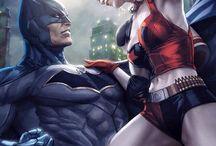 Batman x Harley