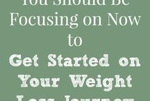 weight loss tips / by Charlene Knowles-Poschner