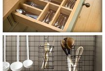 DIY kitchen organization