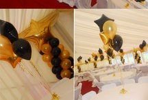 Black and gold theme party