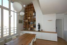 Meuble bois / Les plus beaux meubles réalisés par l'agence d'architecture Studio d'Archi pour des rénovations d'appartements à Paris.
