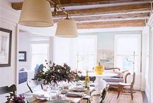 Exposed beam ceilings