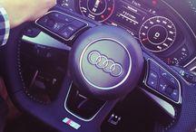 Audi A4 B9 S-line / The new Audi A4 B9 S-line TDI enigine inside