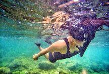 Underwater / #Sea #beach #sand #fun #underwater