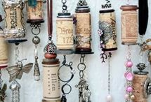 recycled wine corks