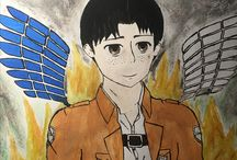 Marco bodt AOT / I drew this then water color painted it (first time using water color) really proud of it