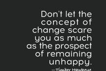 "Great Unique Quotes on ""Change"""