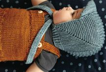 knitting children's clothes