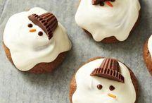 Holiday cookies,food