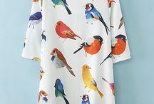 Fashion Birds design