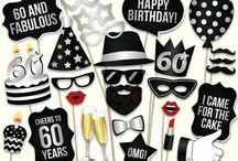 Dad's birthday 60!
