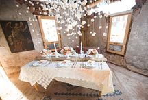Marshmallow World / Marshmallow inspiration, winter decorating and winter wedding ideas