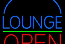 Lounge Open Neon Signs