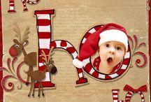 Tarjeta navidad con foto