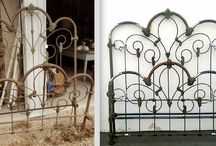 Antique 3/4 size to larger  Modern Sizes / 3/4 size bed frames were an odd size , back in the 1800's, between a twin and full/double size. Because they have little practical use today, we convert them to larger modern sizes. Here are some examples.
