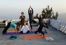 Yoga Classes in Rishikesh, India