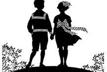 PERGAMANO ENFANTS SILHOUETTES / Sihouettes pour le Pergamano