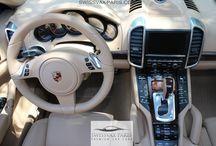 Swissvax Paris - Porsche Cayenne Turbo / Rénovation intérieur cuir - Porsche Cayenne Turbo - Swissvax Paris