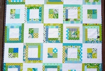 Threadbearers - cadet blue and orange quilt challenge - block structure / by tracy aichele