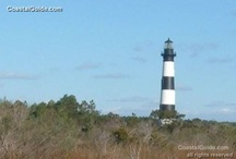 light houses in the Outer Banks / by Angela Hellmann
