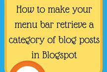Blogspot and Blogger Tips / by Fabulous Blogging