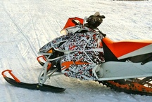 Winter Wonders!! ;) / Snowmobile stuff / by Dorothy Holloway
