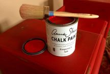 Emperor's Silk / Annie Sloan Chalk Paint - The classic red that will revamp your piece back to a life of glamour and charisma.