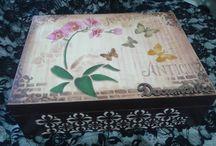 FERNANDO FARIS / Amo artesanato......  Faço caixas artesanais por encomenda :)