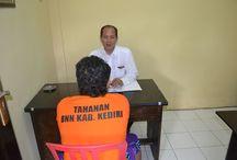 Bergerak Cepat, Kurir Sabu Dibekuk BNN Kabupaten Kediri