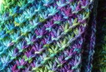 Knit - Scarves, Cowls, shawls, etc