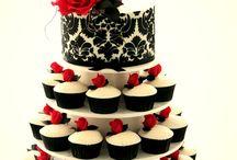 ASHLEY AND KEMPTON / WEDDING CAKE / by Joanne MacQuarrie