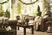 Beautiful Christmas Interiors / Unique and amazing Christmas decoration ideas for your living room.