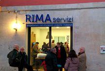 sede RIMA servizi srl / lavori e inaugurazione della nuova sede RIMA servizi srl