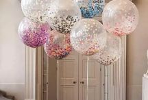 KONFETTI BALLONS / Transparente Ballons, mit Konfetti befüllt - unsere Lieblinge!