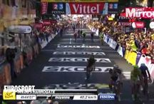 Temp Paint Tour de France 2014 / Ecos Temporary Road Paint used in 6 colours in Harrogate & Keighley