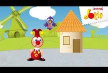 Leren met Jokie / 'Leren met Jokie' is een interactieve reeks waarin Jokie en Jet de allerkleinsten meenemen op een educatief avontuur. Leer samen met Jokie en Jet tellen, vormen herkennen, kleuren benoemen en of iets groot of klein is.