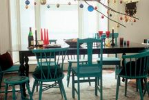 dining room / by Becca Trammell