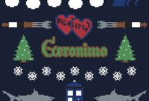 Ugly Christmas sweaters / by Ashley Hintze