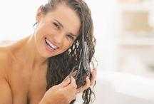 Hidratar os cabelos
