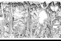 Illustration/inspiration / by Arvo Kaulio