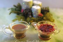miniature supper and holday feasts