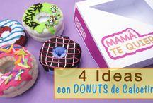 IDEAS CON DONUTS DE CALCETINES
