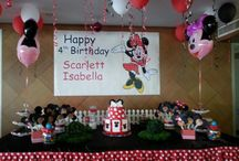 MINNIE MOUSE - BDAY PARTY BY @TATA'S PARTY IDEAS