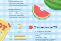 Инфографика про #инфографику )