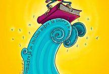 Floating book / Плавающие книги