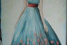 Akrilik boya tablo