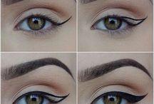szem,szemöldök,haj,körmök