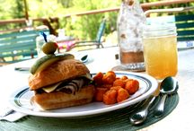 Dude Ranch Cuisine / Here at the Gros Ventre River Ranch, we are constantly serving up fresh, innovative and delicious food for our guests. Choose from a variety of made to order options, sample fresh fruits and pastries from our breakfast buffet, and indulge in homemade desserts!