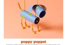 puppet toilet tube